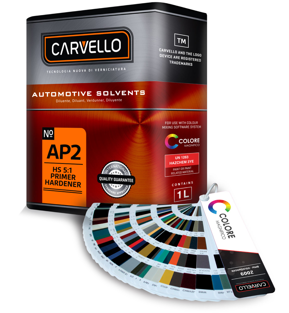 Carvello Paint Tin - Packaging design by Tozer