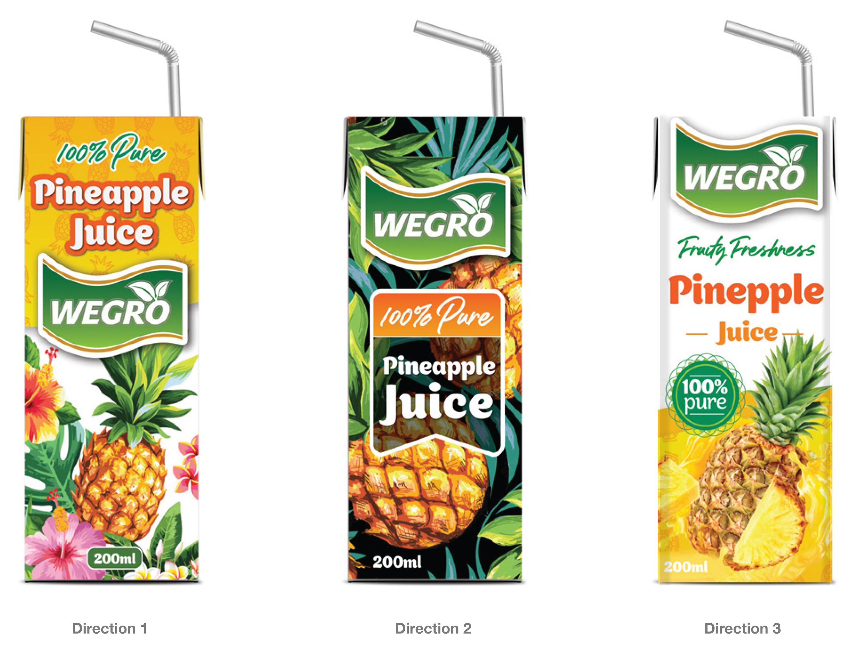 Wegro Juice Range Overview