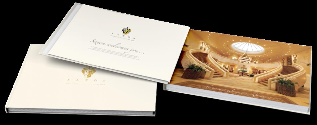 Brochure Design for Saxon Boutique Hotel and Spa